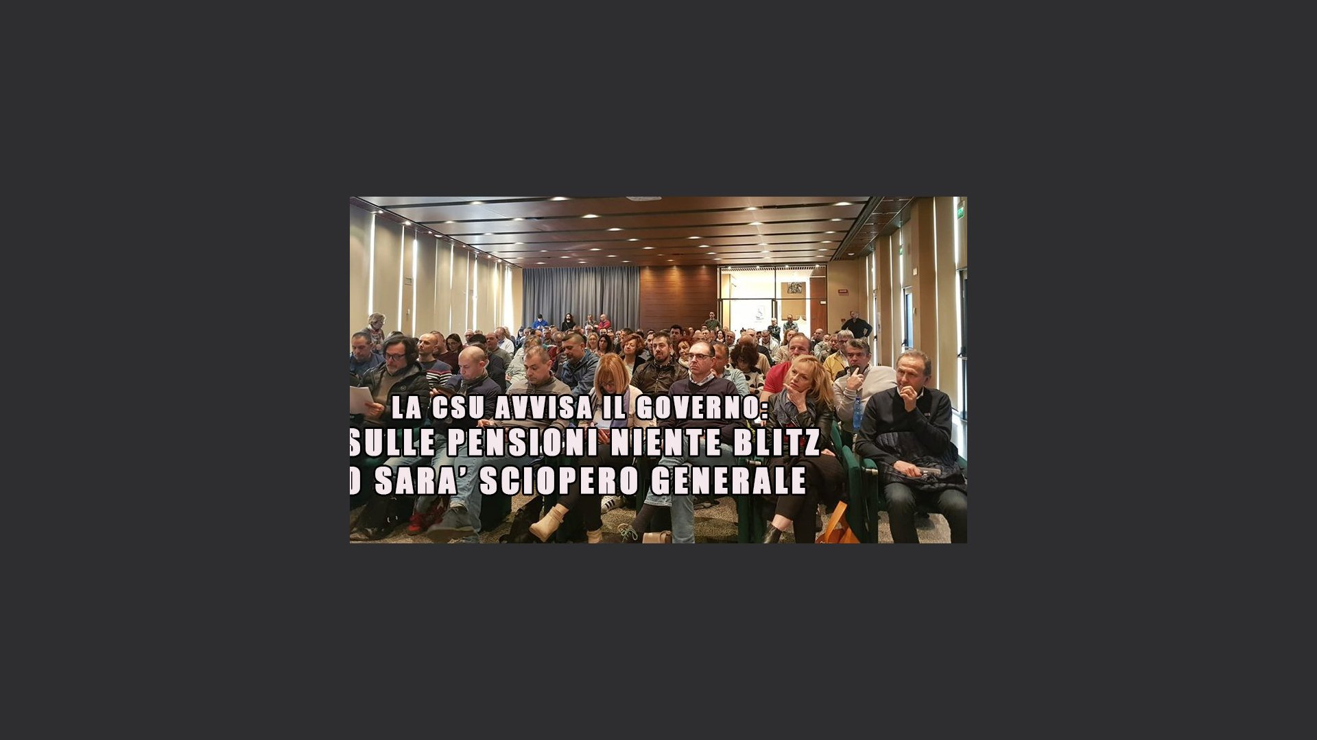 CSU incontri