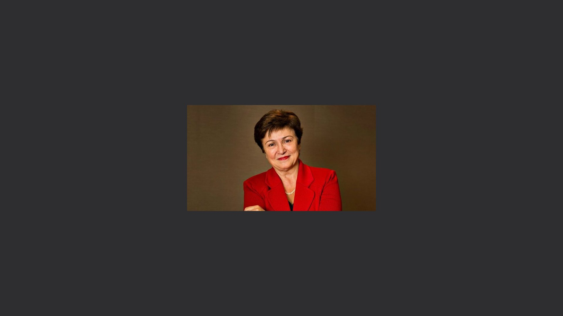 Il primo ottobre parte l'era Georgieva alla guida del Fmi