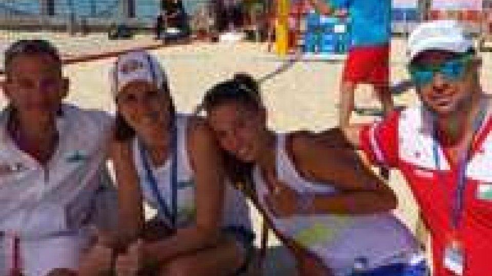 San Marino protagonista agli European Beach Tennis