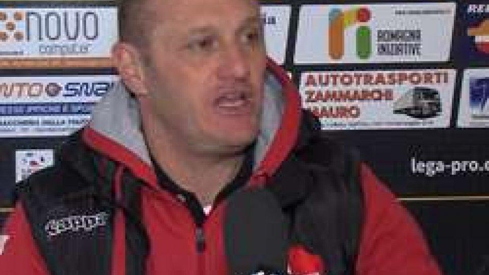 Pierpaolo BisoliSantarcangelo - Padova, le interviste agli allenatori