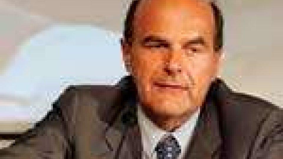Governo, Bersani: segno di discontinuità