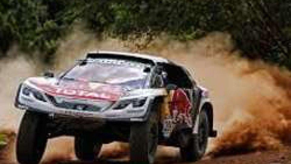 Dakar: Loeb al comando della classifica auto