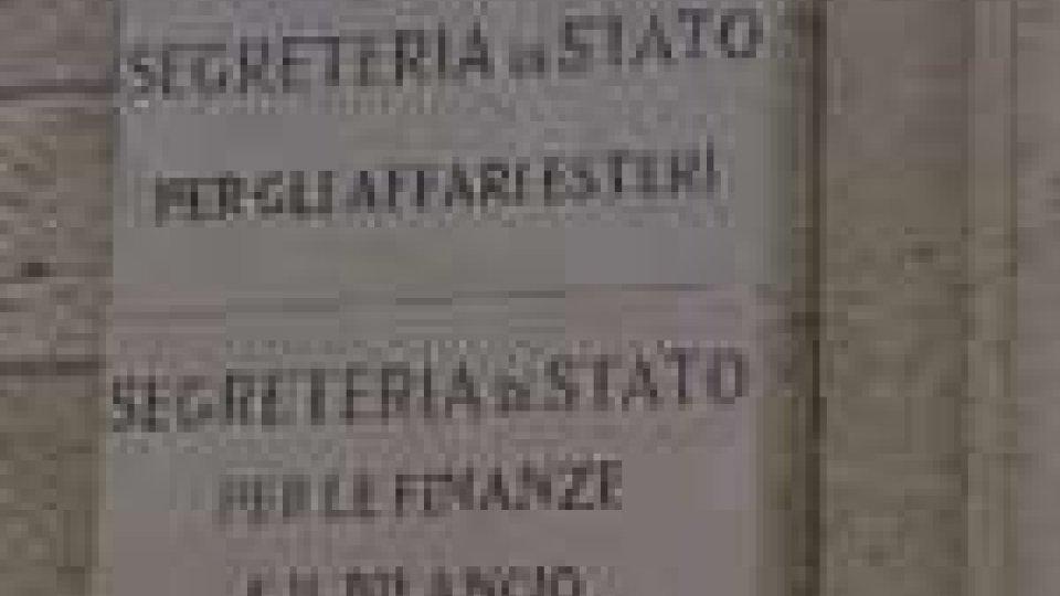San Marino - Nuovo incontro sulla riforma tributaria tra sindacati e Segreteria per le Finanze
