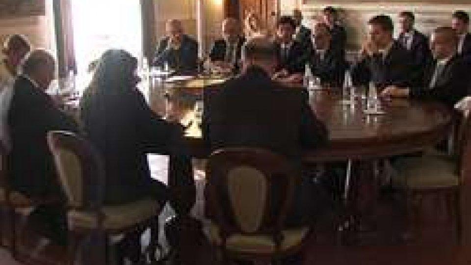 Incontro bilaterale San Marino-MaltaRelazioni internazionali: a Palazzo Begni incontro bilaterale San Marino-Malta