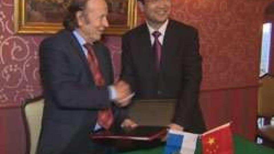 Cina: firmato il memorandum tra l'associazione di San Marino e quella di ShanghaiCina: firmato il memorandum tra l'associazione di San Marino e quella di Shanghai