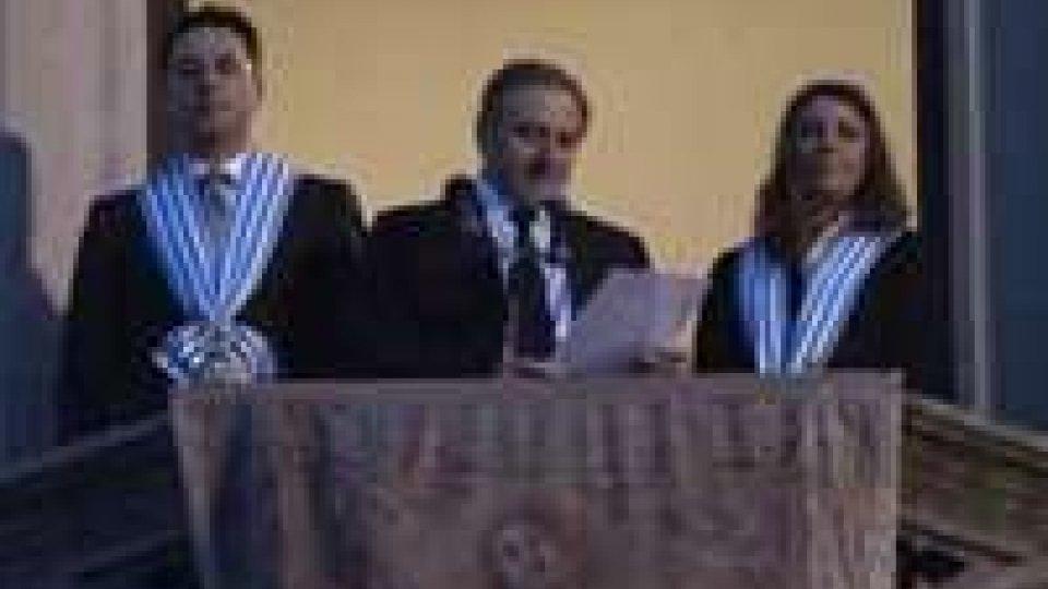La nuova Reggenza: Antonella Mularoni - Denis AmiciI nuovi Capitani Reggenti