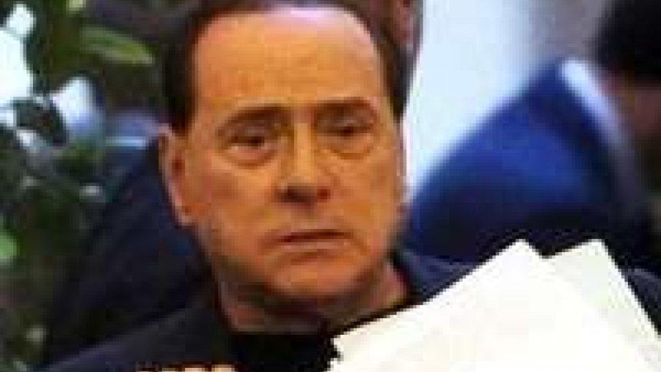 Silvio Berlusconi sancisce di fatto l'apertura della crisi di governo