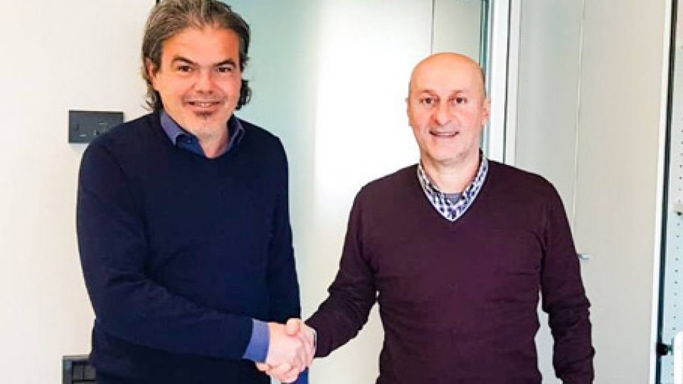 Rocco Cotroneo con Luca Mancini
