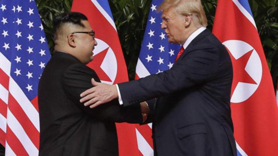 I due leader. Foto ansa
