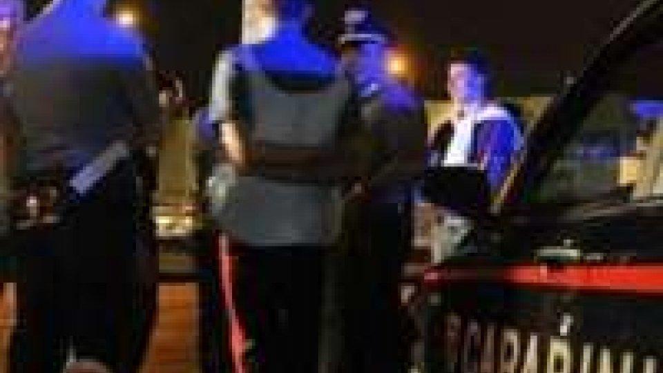 Riccione: notte di straordinari per i Carabinieri.