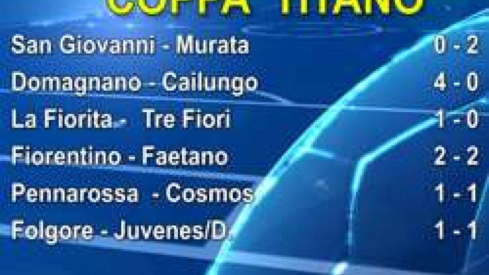 Coppa Titano: vincono Domagnano, La Fiorita e Murata