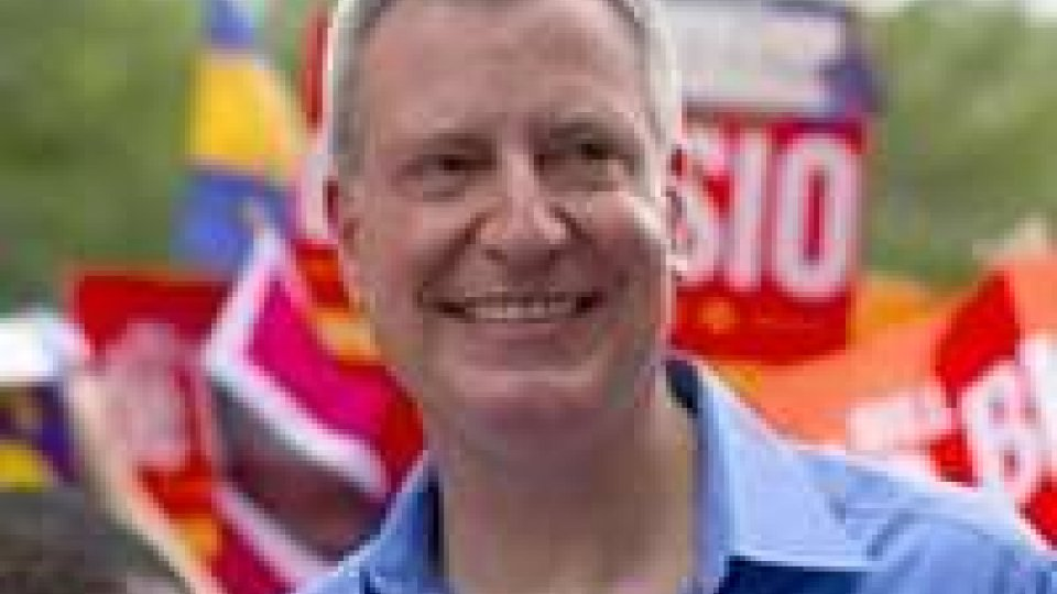 Usa: Ny, luci ed ombre sui primi cento giorni di de Blasio