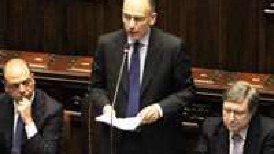 La Camera conferma la fiducia al governo Letta con 379 sì