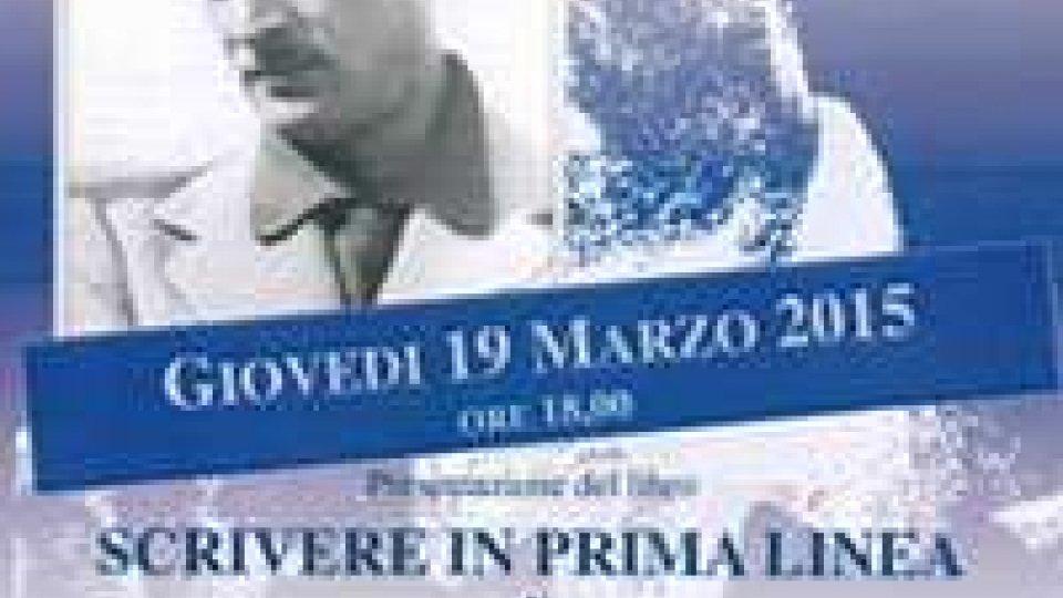 """Biblioteca di Stato: presentazione del libro """"Scrivere in prima linea"""" di Alberto Malfitano"""