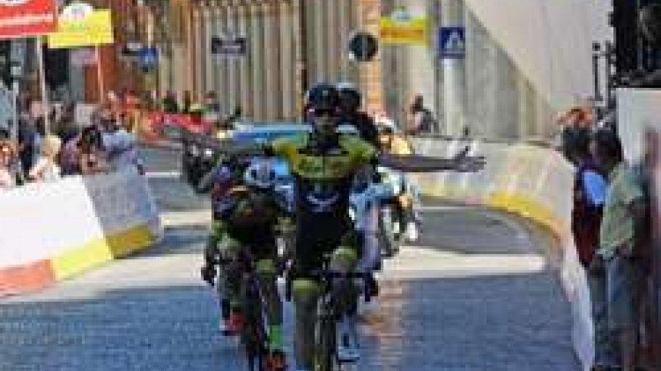 """Ciclismo, il sammarinese Antonelli vince il trofeo Caviro """"Sulle strade del Passatore"""""""
