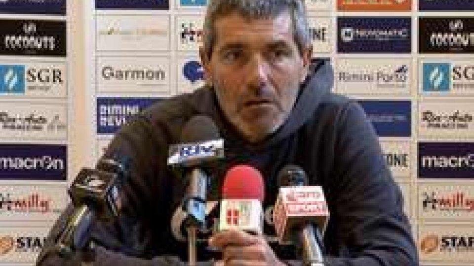 """Luca RighettiRimini, Righetti si presenta: """"Non faccio promesse, lavoriamo per vincere"""""""