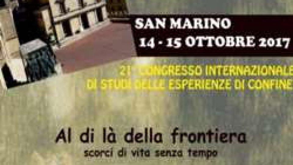 21° Congresso Internazionale di Studi delle Esperienze di Confine