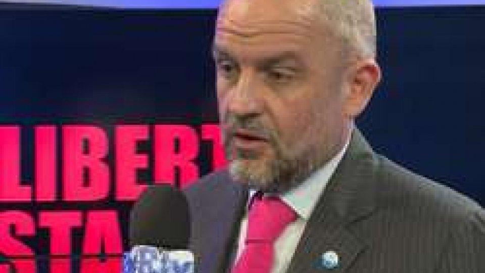 Il Segretario Marco PodeschiLibertà di stampa. Podeschi annuncia a breve una nuova legge ma serve anche, dice, un contratto di lavoro per il settore