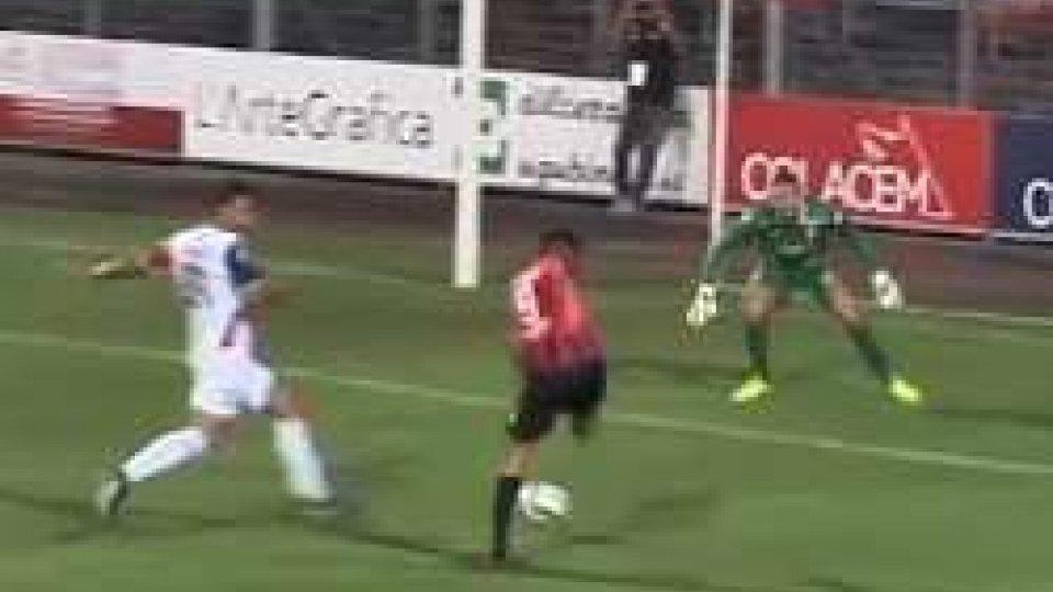 Gubbio - Sambenedettese 1-3Gubbio - Sambenedettese 1-3: umbri lasciano la vetta della classifica