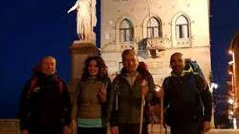 Giovanni Francesco Ugolini in pellegrinaggio verso La Verna