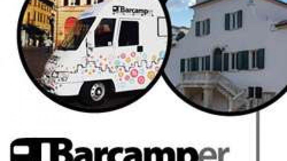 Barcamper fa tappa in Banca di San Marino