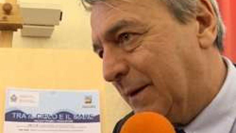 Giuseppe Maria Morganti<strong>IL MARE (di Cesenatico) SUL MONTE (a Borgo Maggiore): il sabato dell'Adriatico</strong>