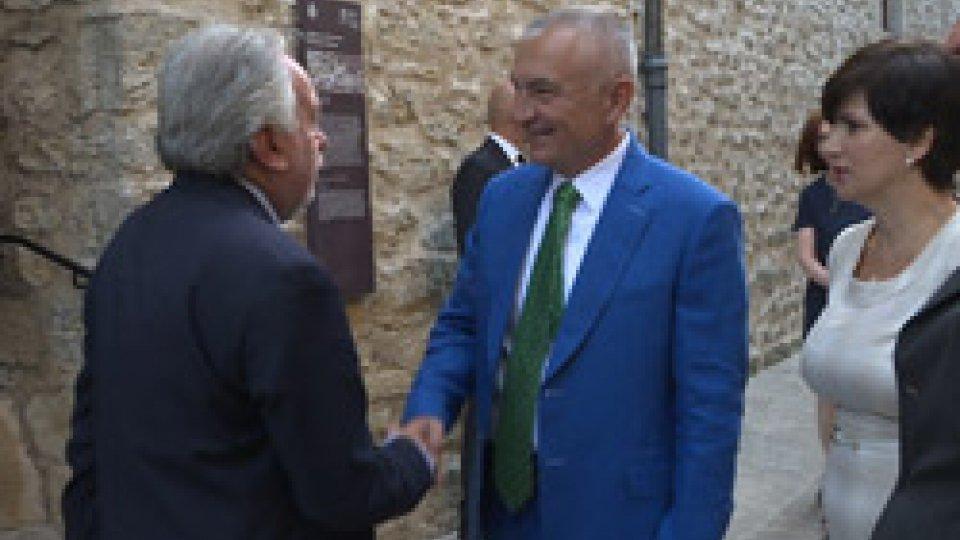 Corrado Petrocelli e Ilir Meta