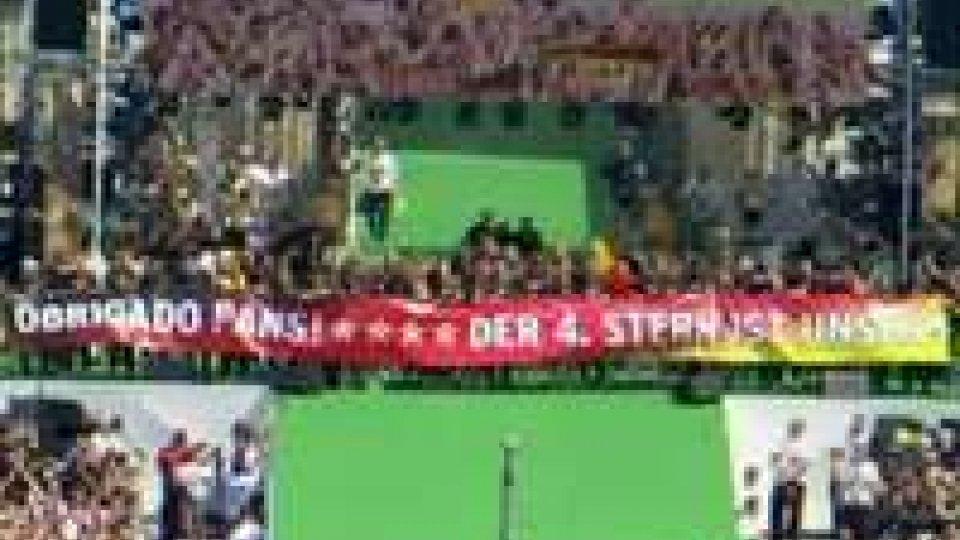 Germania: marcia trionfale a BerlinoGermania: marcia trionfale a Berlino