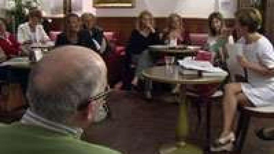 San Marino - Ieri sera terzo appuntamento con la poesia e il caffè letterario