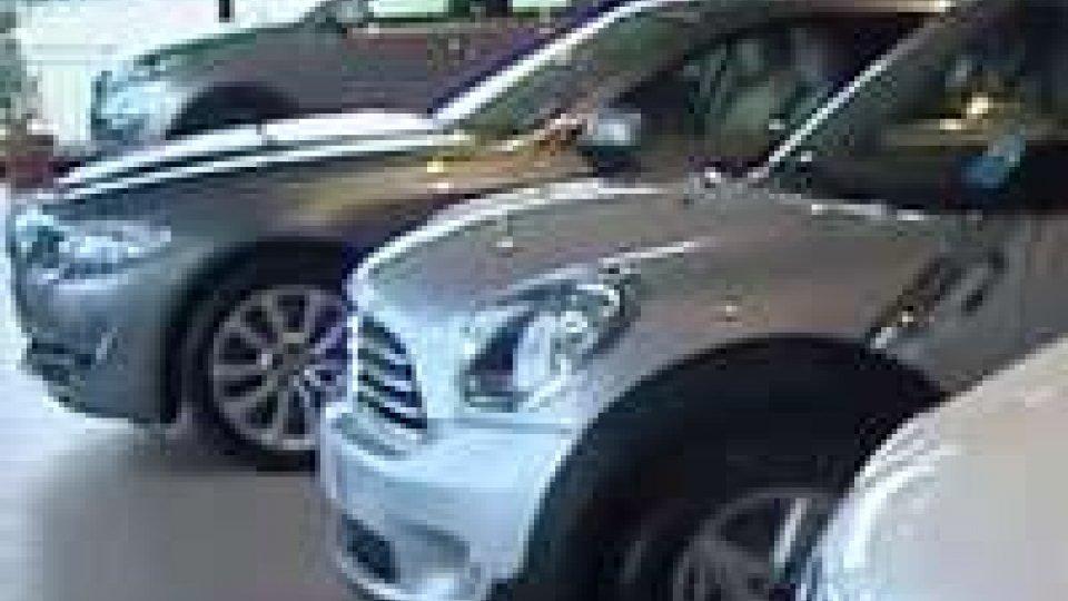 Mercato dell'auto: sul Titano calano le immatricolazioni