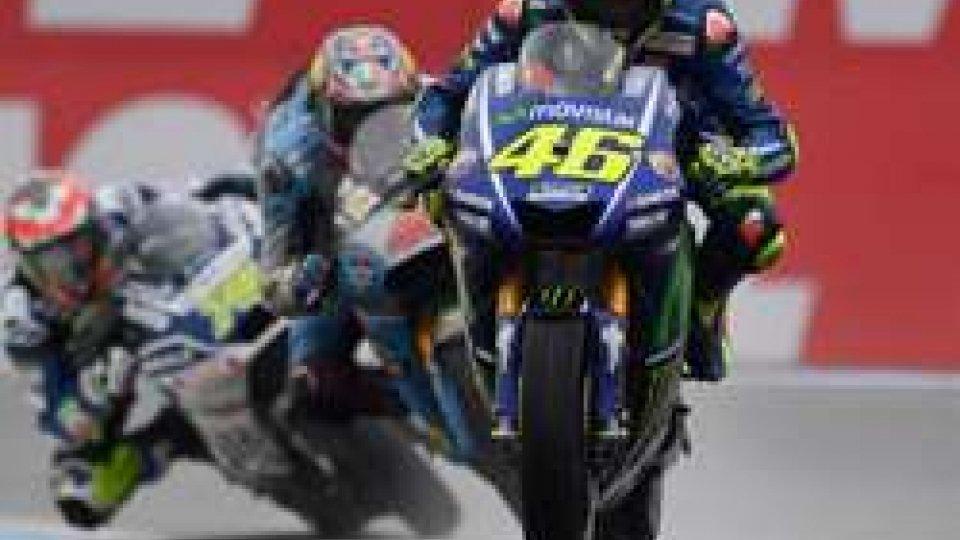 MotoGP: capolavoro Rossi ad Assen