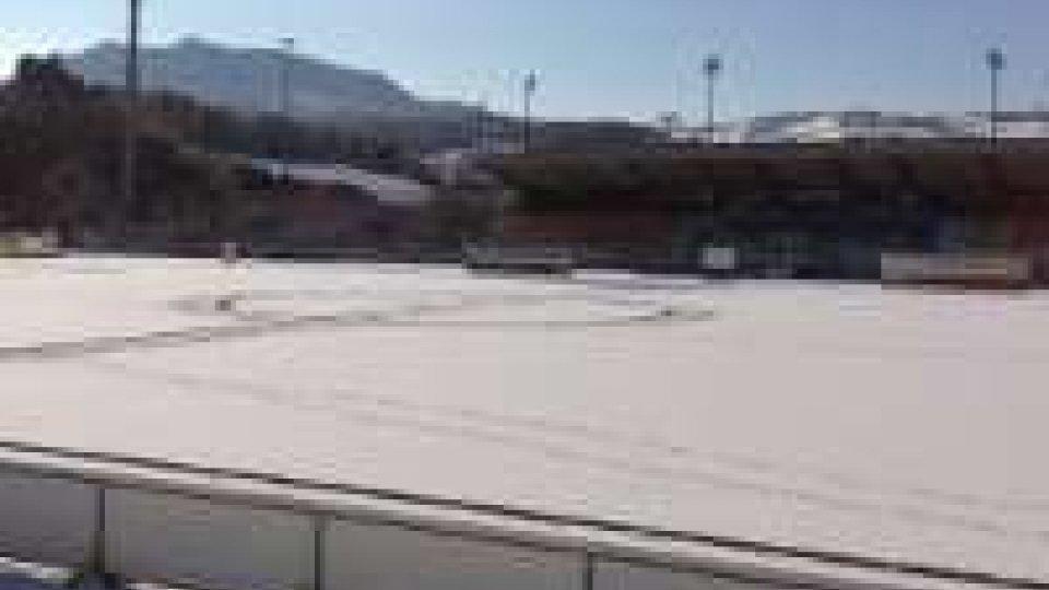 Lega Pro: la Romagna si arrende alla neve, rinviata anche la partita del San Marino