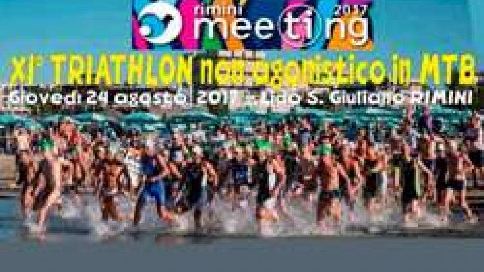 Triathlon Super sprint in mountain bike nelle manifestazioni del Meeting di Rimini