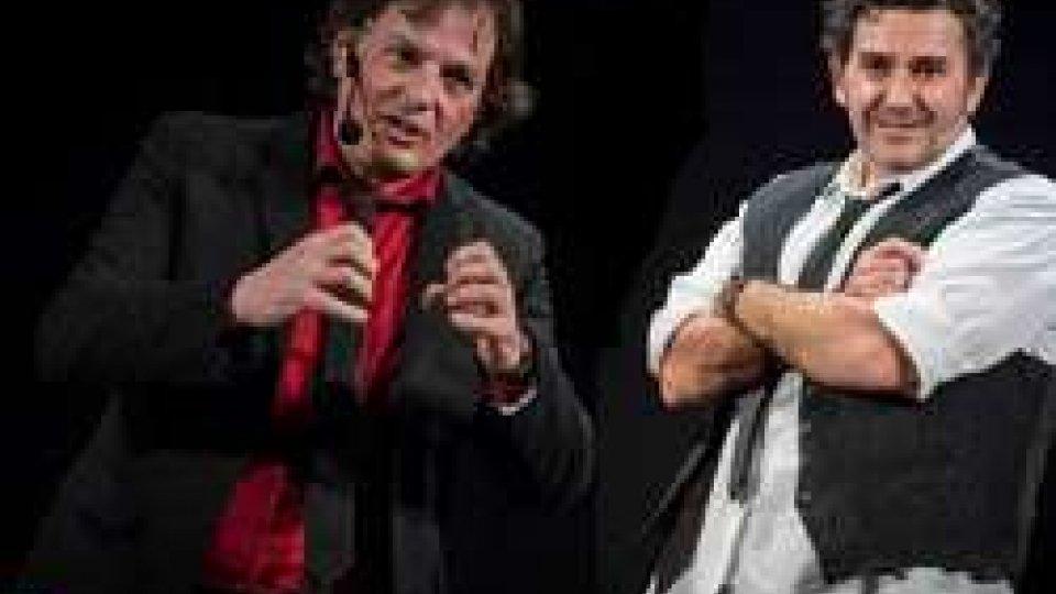 """""""Locomix alla frutta"""": al teatro cor.te Enrico Zambianchi e Andrea Vasumi aprono la parata di talenti comici"""