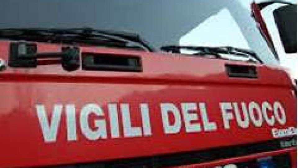 Incendio in abitazione a Poggio Torriana: solo tanta paura