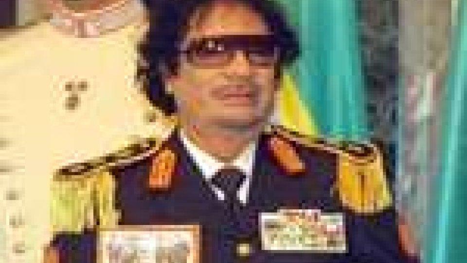 Libia: Nuovo messaggio di Gheddafi