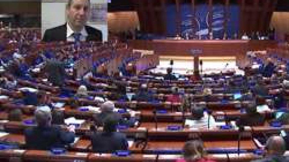 Nel riquadro Marco GattiIl Titano all'Assemblea Parlamentare del COE: intervento sulla maternità surrogata