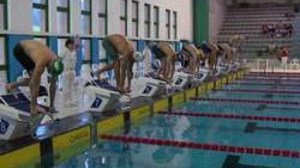 """Nuoto, Meeting del Titano alla """"Fiamme Oro"""". Per San Marino quattro medaglieNuoto, Meeting del Titano alla """"Fiamme Oro"""". Per San Marino quattro medaglie"""