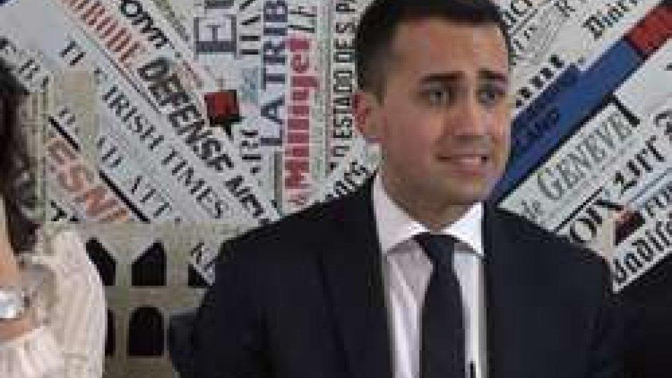 Luigi Di MaioIl Movimento 5 Stelle annuncia a Rimini il proprio candidato premier