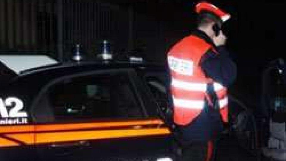 Carabinieri Riccione: un lungo week-end sulle strade