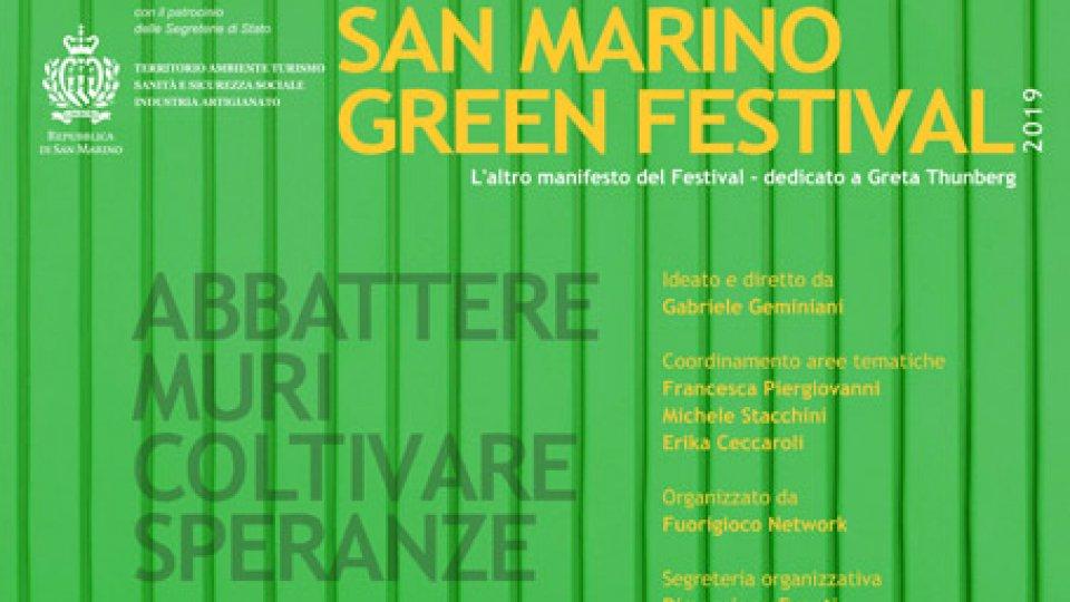 """Il San Marino Green Festival dedica un manifesto a Greta Thunberg in occasione del""""Fridays For Future"""""""