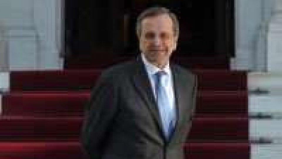 """Grecia, Samaras: """"Spero che le cose vadano bene in Italia"""""""