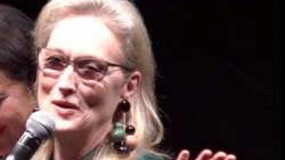 Meryl Streep a Roma ricorda i suoi capolavori del passato ed esalta Robert De NiroMeryl Streep a Roma ricorda i suoi capolavori del passato ed esalta Robert De Niro