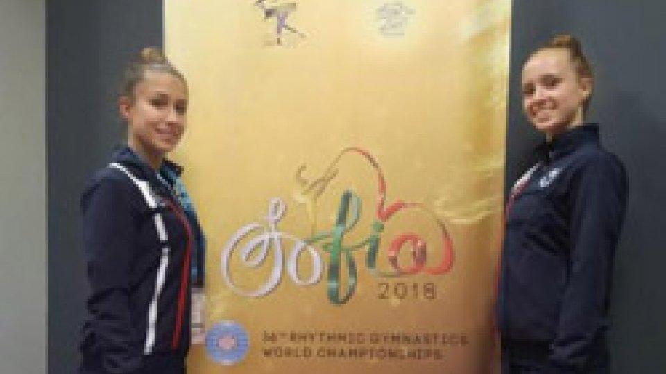 Garbarino e Castiglioni al mondiale di ginnastica di Sofia
