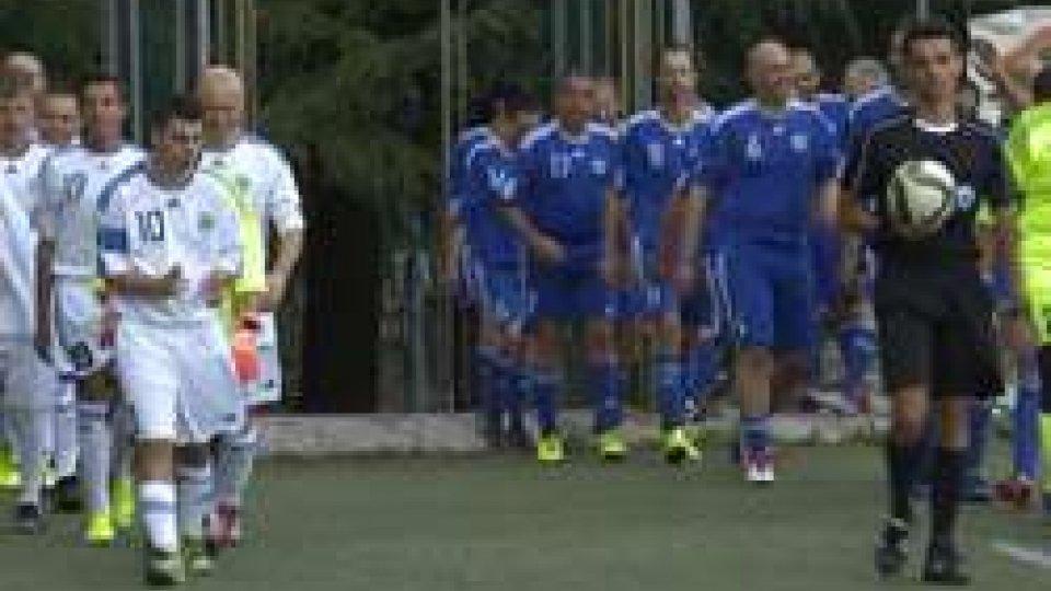 la partita di BorgoSport e inclusione, tutti in campo a Borgo Maggiore
