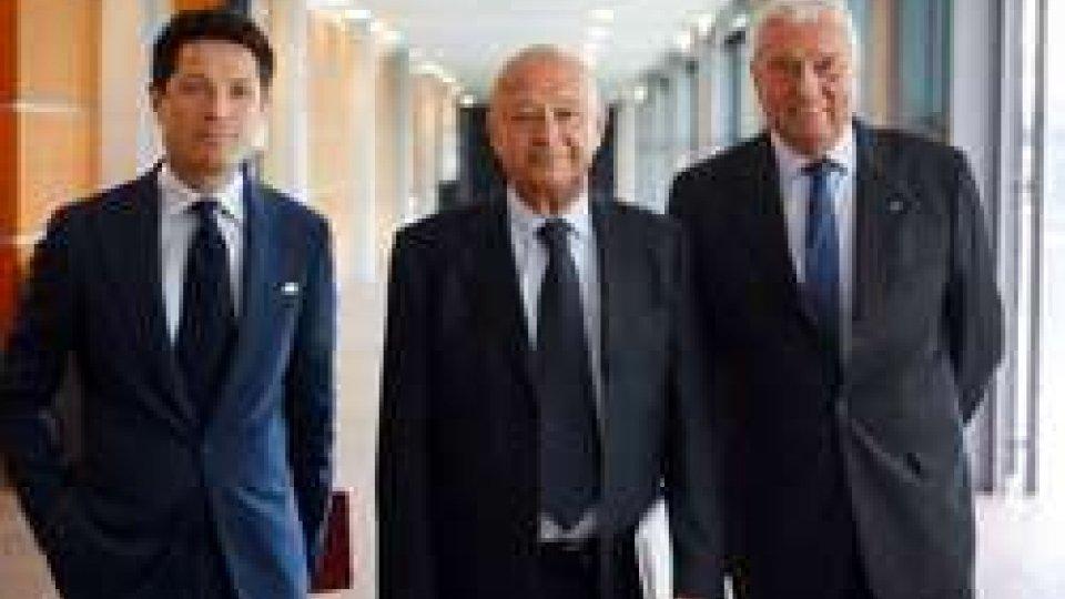 Matteo Marzotto, Lorenzo Cagnoni e Ugo Ravanelli