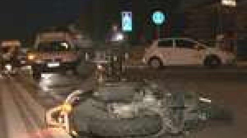 Incidente a Montescudo: coinvolti tre mezzi