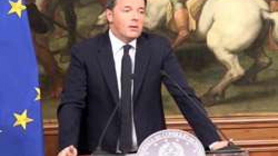 "Matteo RenziReferendum Italia, Renzi sale al colle per ""dimissioni irrevocabili"""