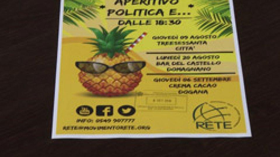 Partono gli aperitivi di RetePolitica e aperitivo: Rete presenta gli eventi per dialogare con i cittadini sui temi caldi
