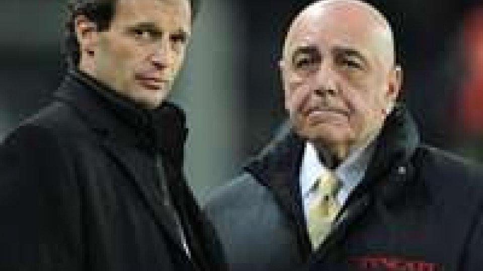Serie A, Milan: Allegri prepara il ritiro anticipato.